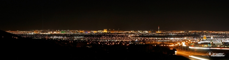 Las Vegas by night – Nevada