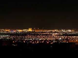 Las Vegas by night – Nevada