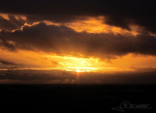 Sunset time – France