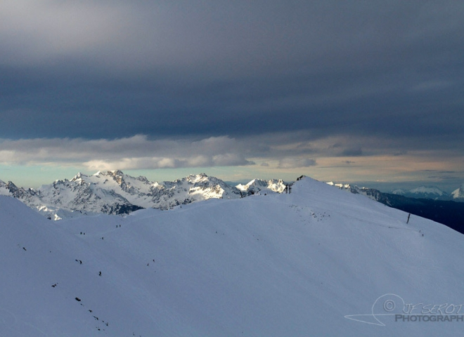 Les Alpes à Montricher-Albanne – France