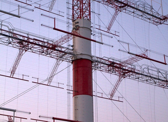 Antenne Alliss – Émetteur radio d'Issoudun – France