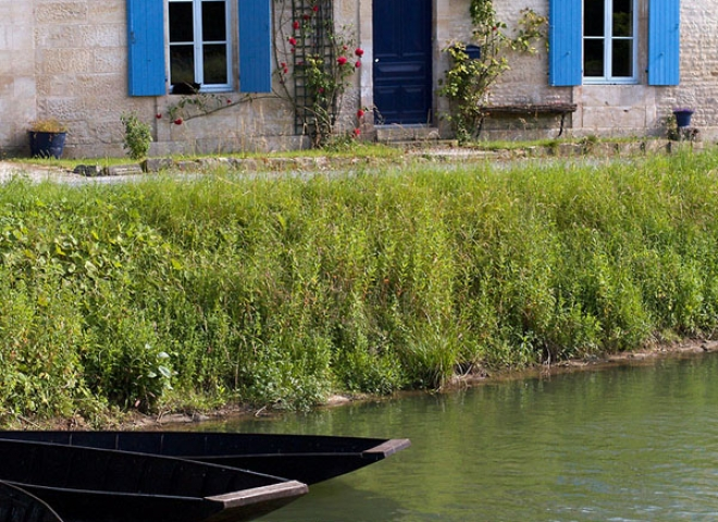 Marais Poitevin à Coulon – France