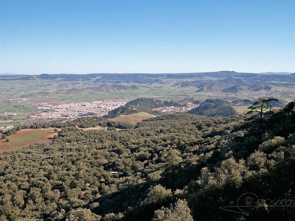 Vallée à Azrou – Maroc