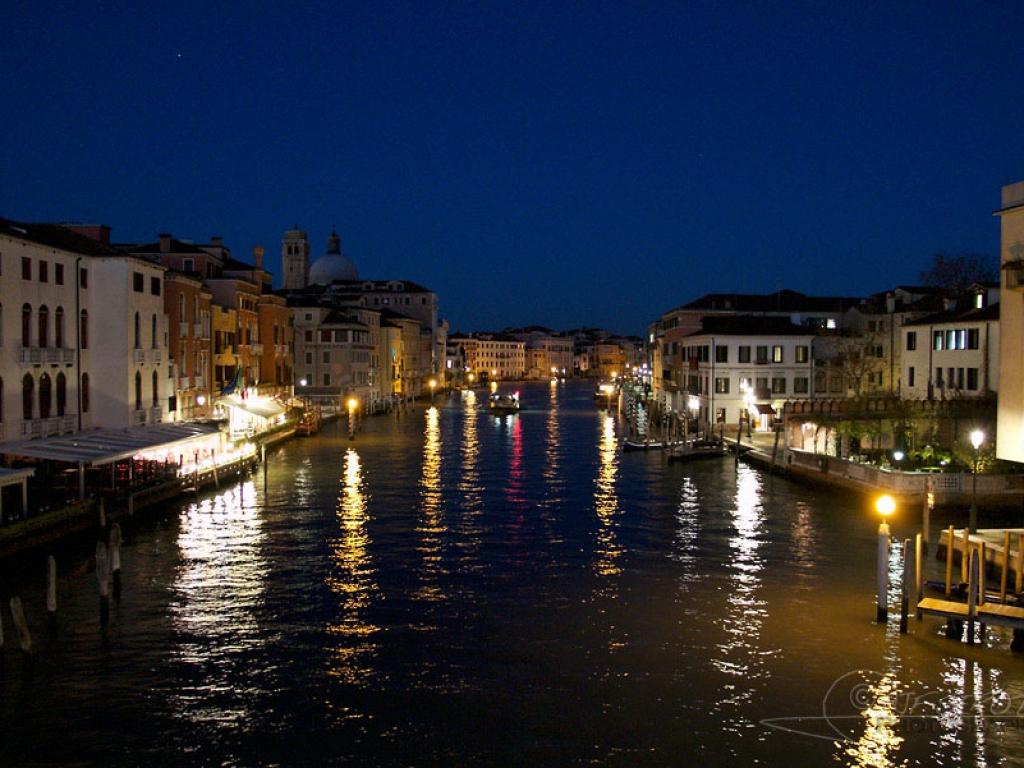Nocturne, Grand Canal de Venise – Italie