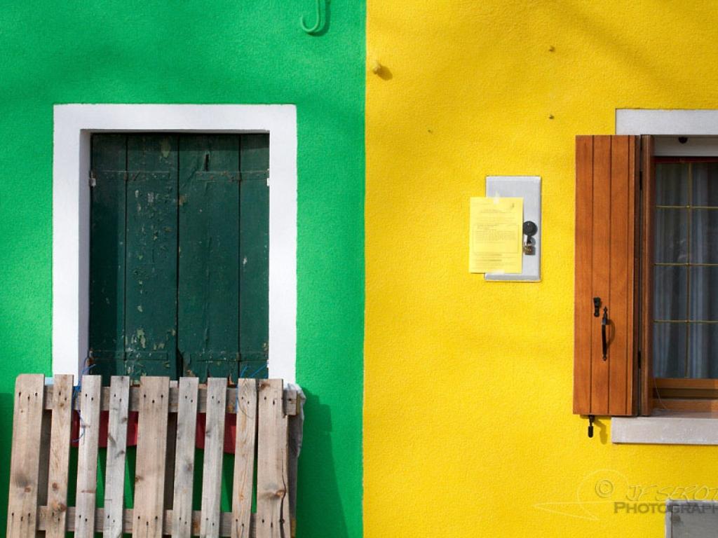 Maisons vivement colorées de Burano – Italie