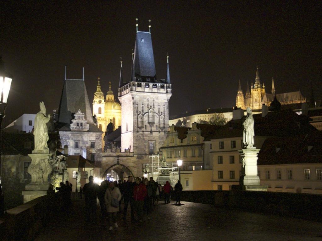 Prague de nuit – République tchèque