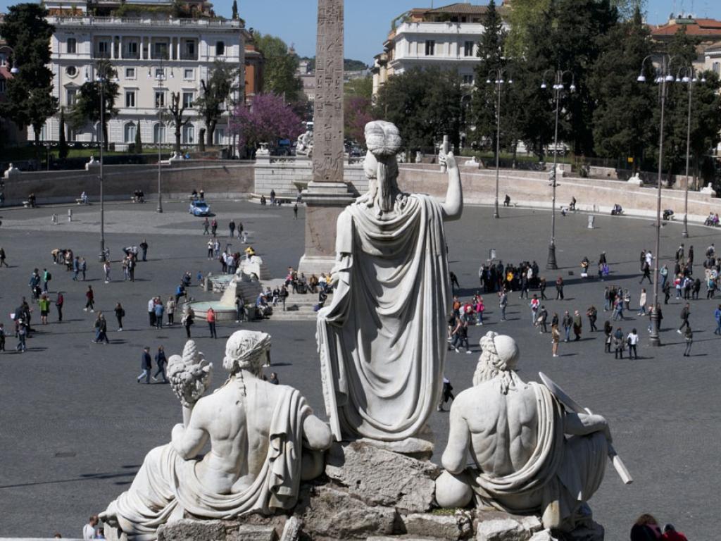 Piazza del Popolo à Rome – Italie